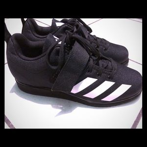 Brand new (never worn) Adidas powerlift 4 shoes